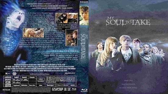 dvd cover My Soul To Take