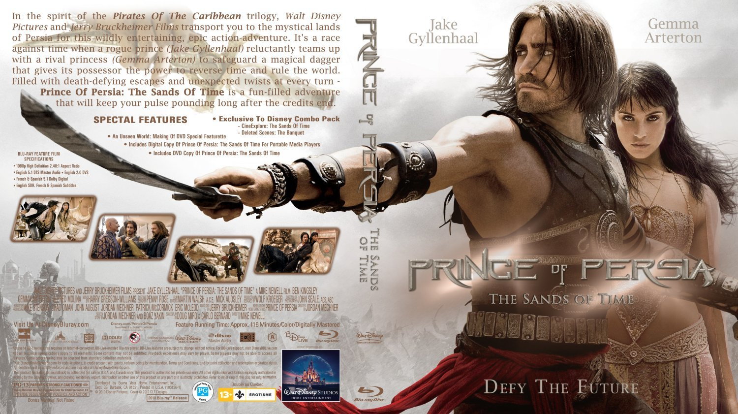 Prince Of Persia The Sands Of Time Dvd Covers And Labels