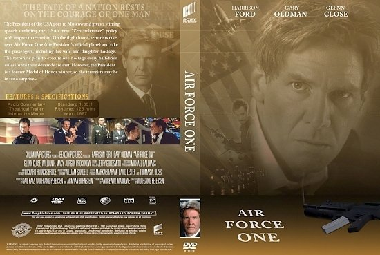 dvd cover Air Force One