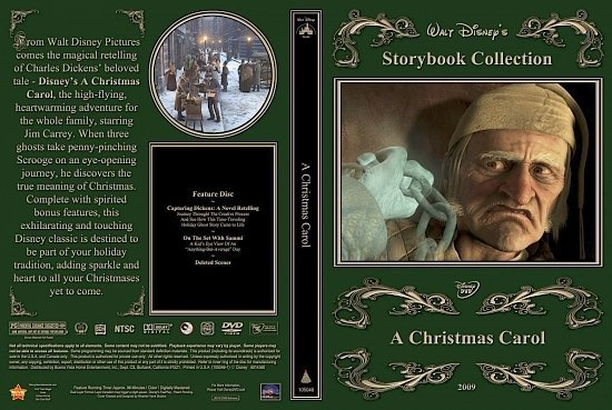 dvd cover A Christmas Carol2