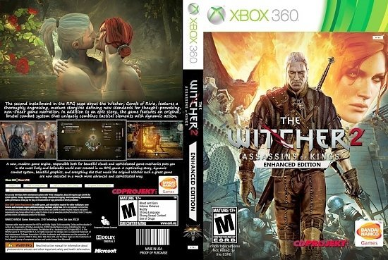 dvd cover The Witcher 2 Assassins Of Kings Enhanced Edition