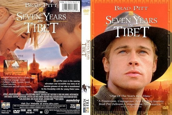 dvd cover Seven Years In Tibet (1997) WS R1