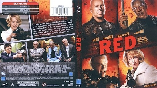 dvd cover Red (2010) Blu-Ray