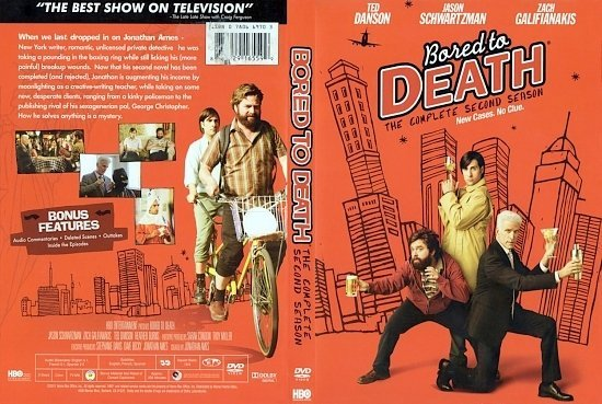 dvd cover Bored To Death Season 2