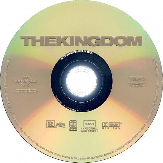 dvd cover The Kingdom (2007) WS R1