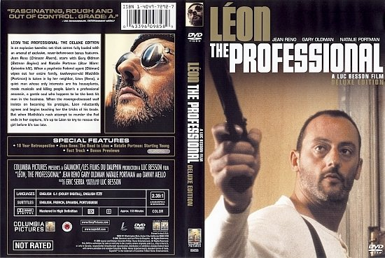 dvd cover Leon: The Professional (1994) DE WS R1