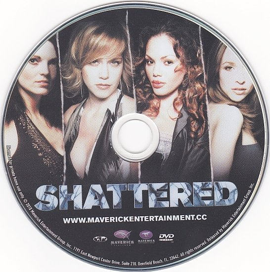dvd cover Shattered (2008) R1