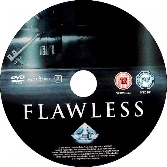 dvd cover Flawless (2007) R2