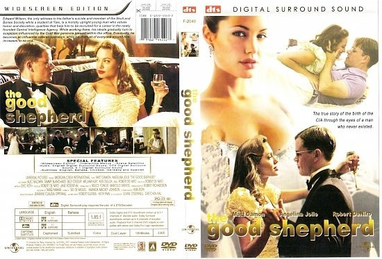 dvd cover The Good Shepherd (2006) WS R1