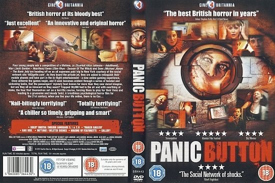 dvd cover Panic Button (2011) WS R2