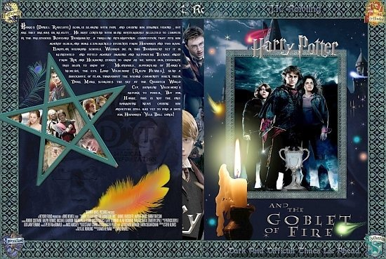 dvd cover Harry Potter And The Goblet of Fire