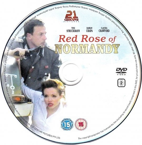 dvd cover Red Rose Of Normandy (2011) R2