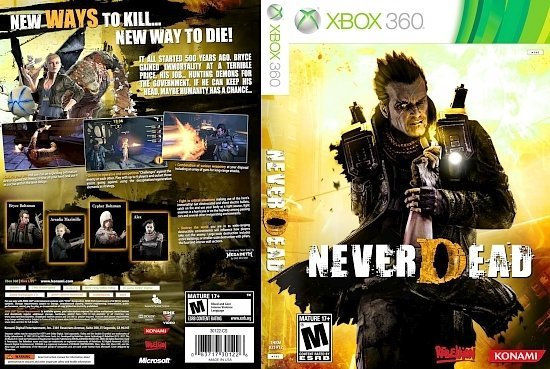 dvd cover 2012 thrm neverdead front x360 ntsc US
