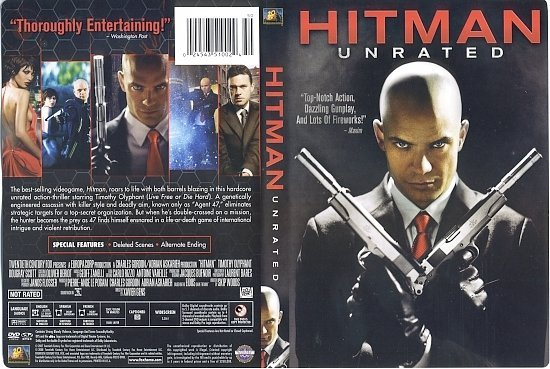 dvd cover Hitman (2007) WS UNRATED R1