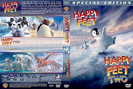 dvd cover Happy Feet Double Feature version 3