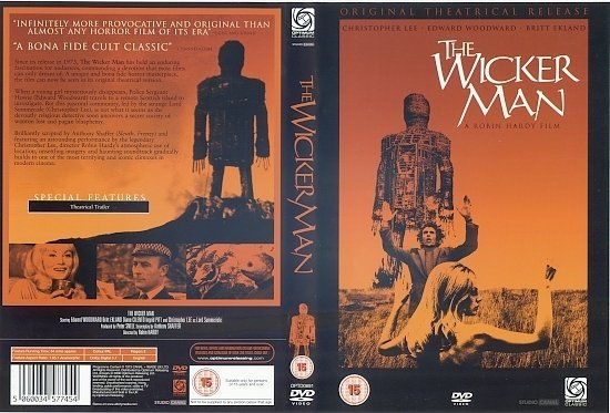 dvd cover The Wicker Man (2006) R2
