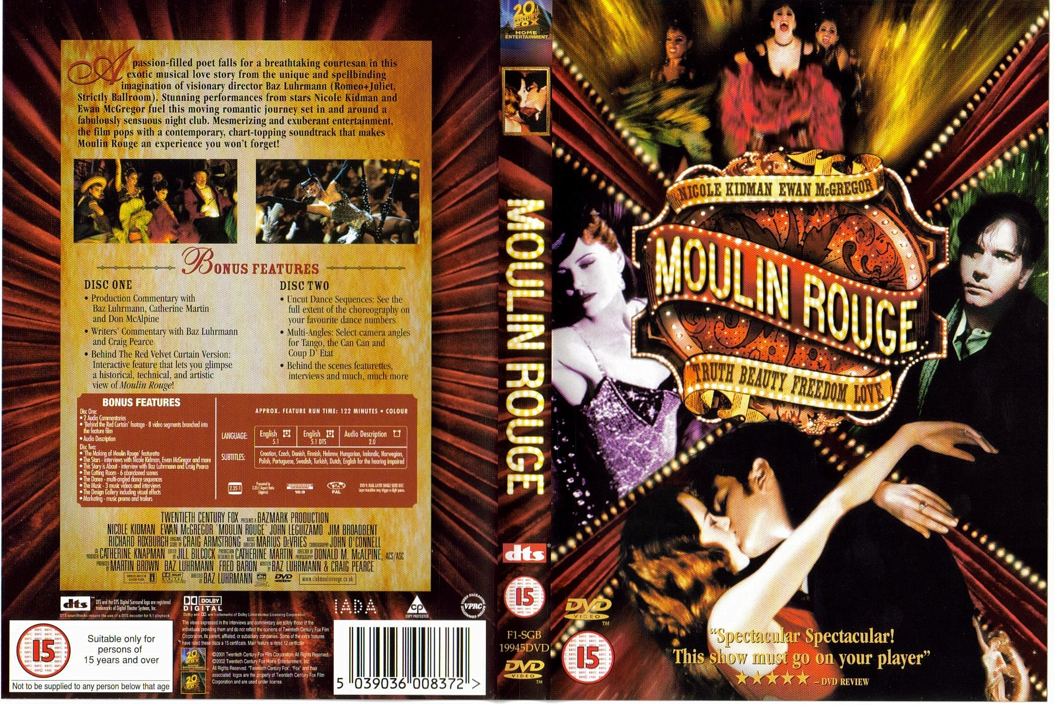 moulin rouge an expression of love The 2018 winter olympics may be over, but these memorable figure skating performances will live on, thanks to their music choices.