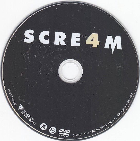 dvd cover Scream 4 (2011) WS R4