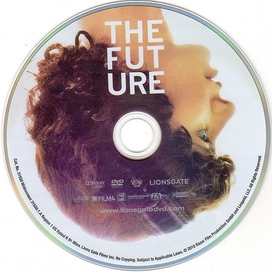 dvd cover The Future (2011) WS R1