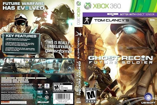 dvd cover 46648 tom clancys ghost recon future soldier print