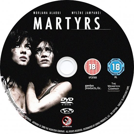 dvd cover Martyrs (2008) R2