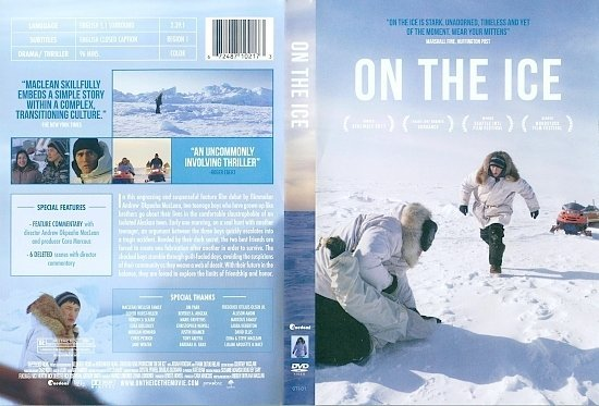 dvd cover On the Ice (2011) WS R1