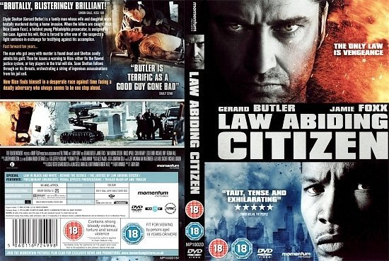dvd cover Law Abiding Citizen (2009) R2