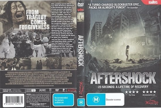 dvd cover Aftershock (2010) R4