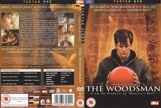 dvd cover The Woodsman (2004) WS R2