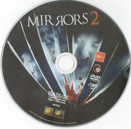dvd cover Mirrors and Mirrors 2 Double Pack