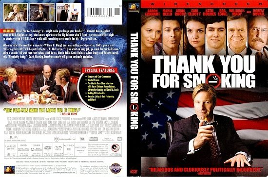dvd cover Thank You For Smoking (2005) R1
