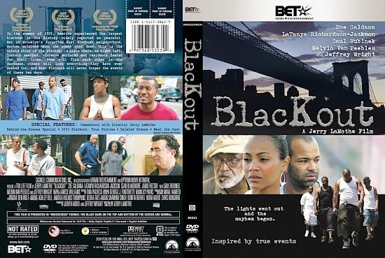 dvd cover Blackout