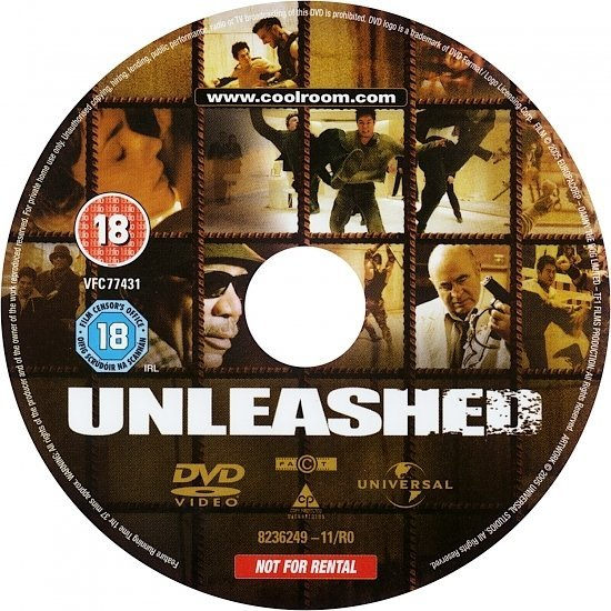 dvd cover Unleashed (2005) R2