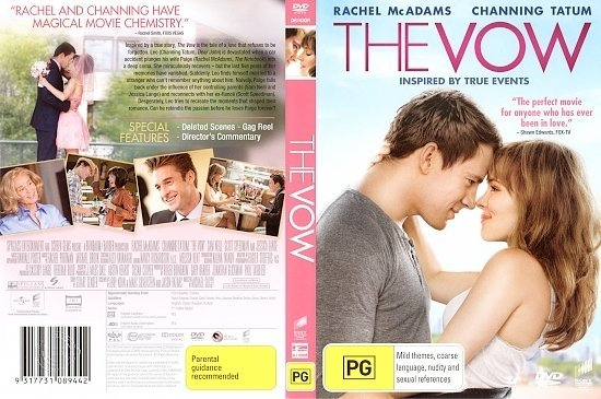 dvd cover The Vow R4