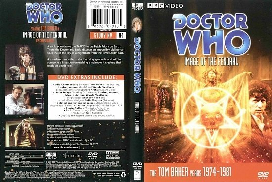 dvd cover Doctor Who Image Of The Fendahl