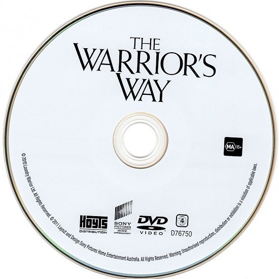 dvd cover The Warrior's Way (2010) WS R4