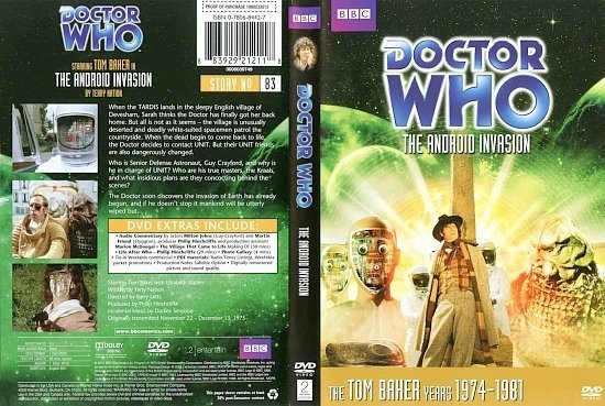 dvd cover Doctor Who The Android Invasion