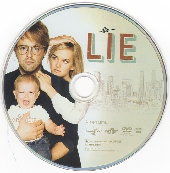 dvd cover The Lie (2011) WS R1