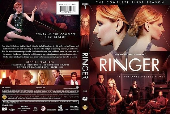 dvd cover Ringer Season 1 1