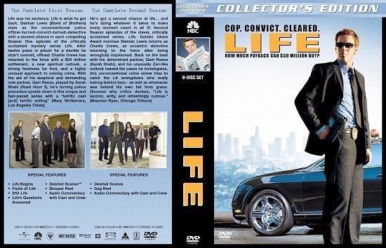 dvd cover Life: The Complete Series