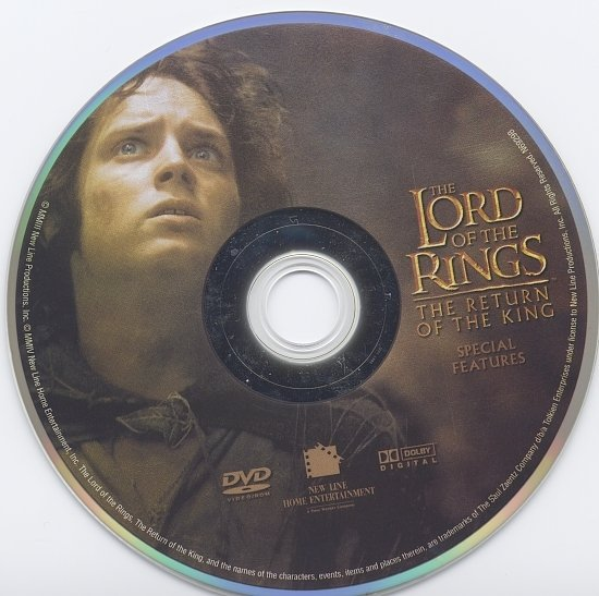 dvd cover The Lord Of The Rings: The Return Of The King (2003) WS R1