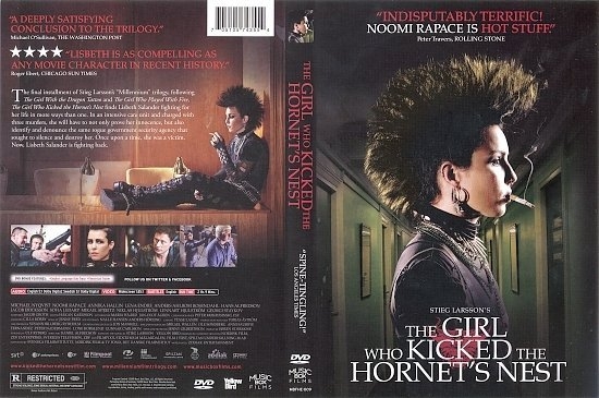 dvd cover The Girl Who Kicked The Hornet's Nest (2009) R1