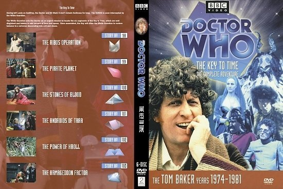 dvd cover Doctor Who The Key To Time