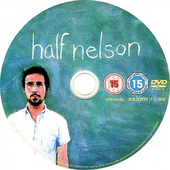 dvd cover Half Nelson (2006) WS R2
