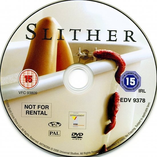 dvd cover Slither (2006) R2