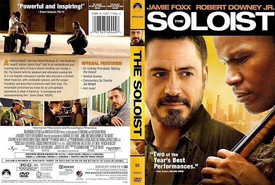 dvd cover The Soloist (2009) WS R1