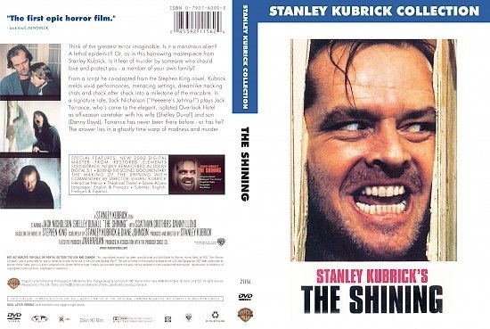 dvd cover The Shining (1980) R1