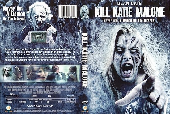 dvd cover Kill Katie Malone