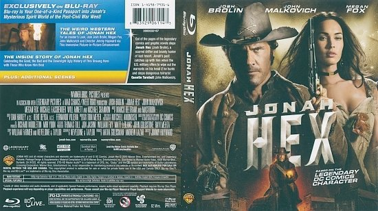 dvd cover Jonah Hex (2010) Blu-Ray