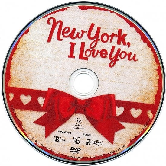 dvd cover New York, I Love You (2009) WS R1
